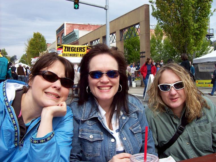 Friends at the street Fair