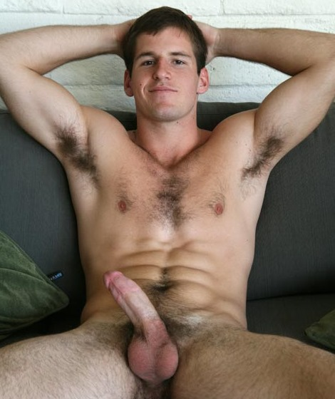 Dirty Handsome Gay Solo On The Sofa