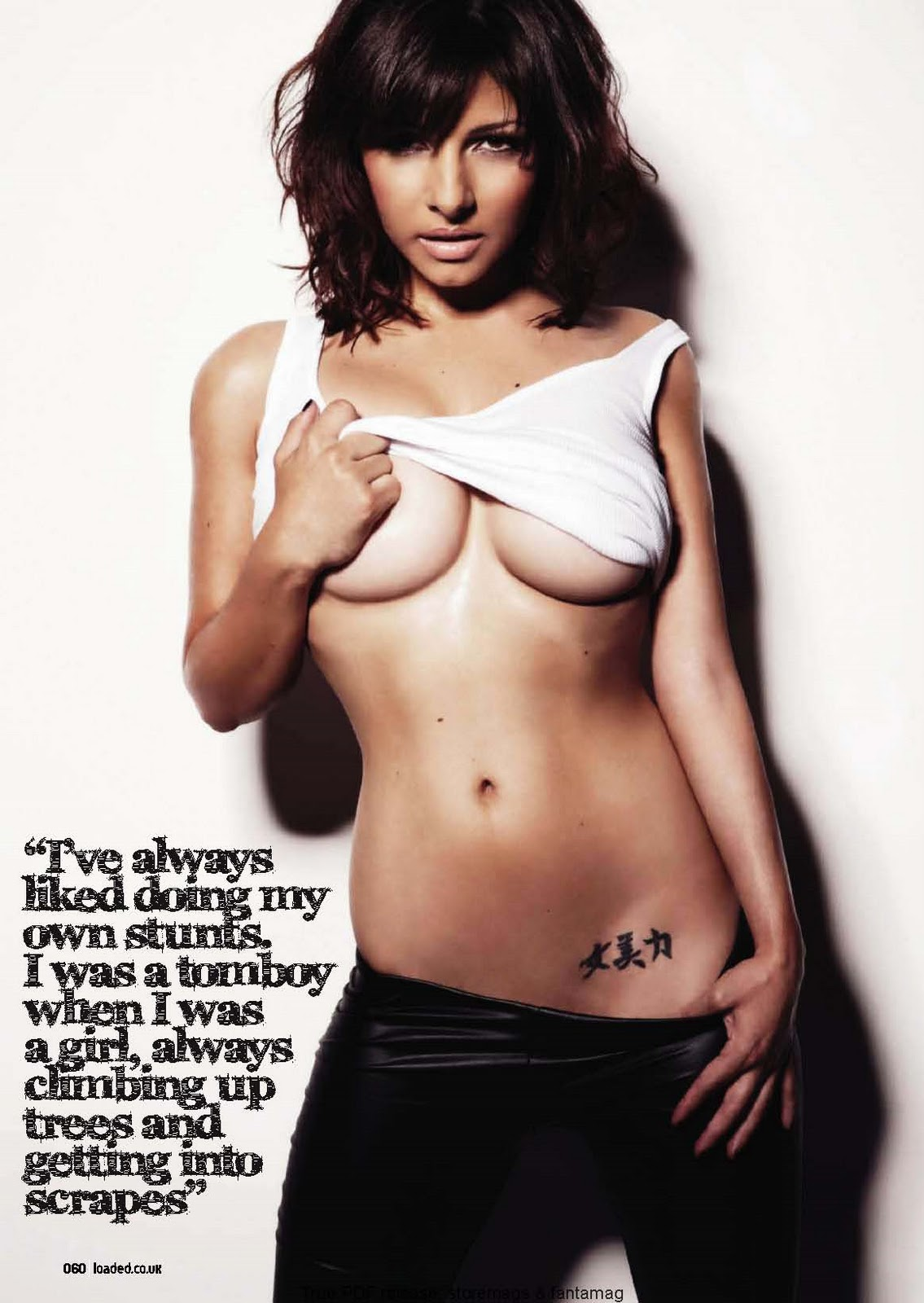 Roxanne Pallett   Loaded - UK  November 2010Roxanne Pallett Tattoos