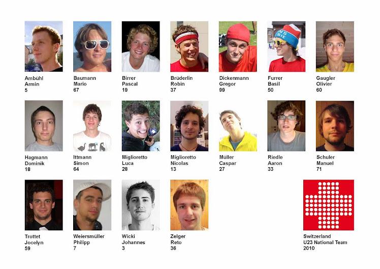 Die Schweizer U23 Nationalmannschaft