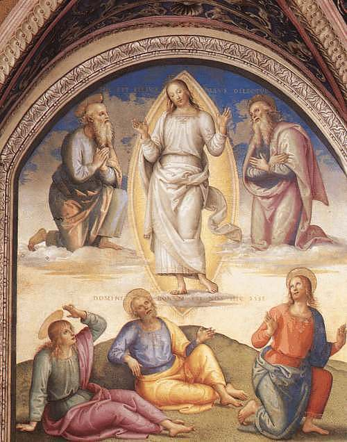 transfiguration of christ. The Transfiguration