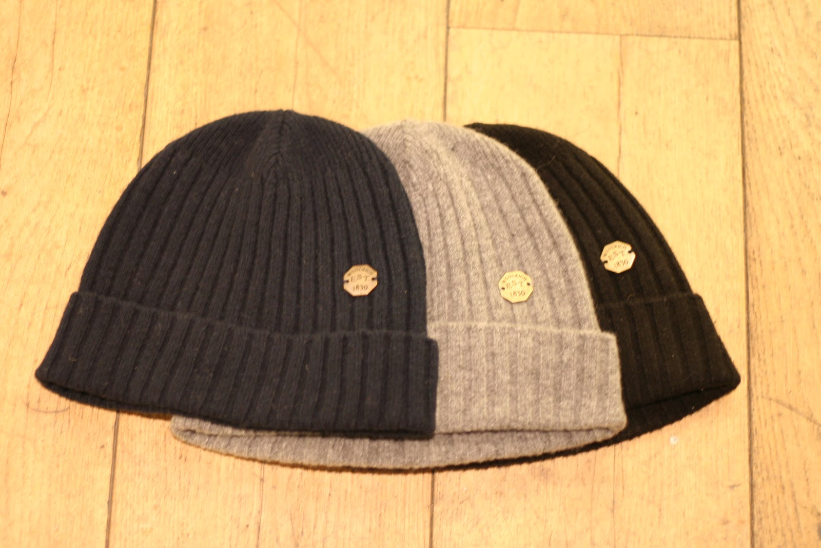 a31f98a53eaef A Swan s Wing Dyed in Red  Woolrich Beanie