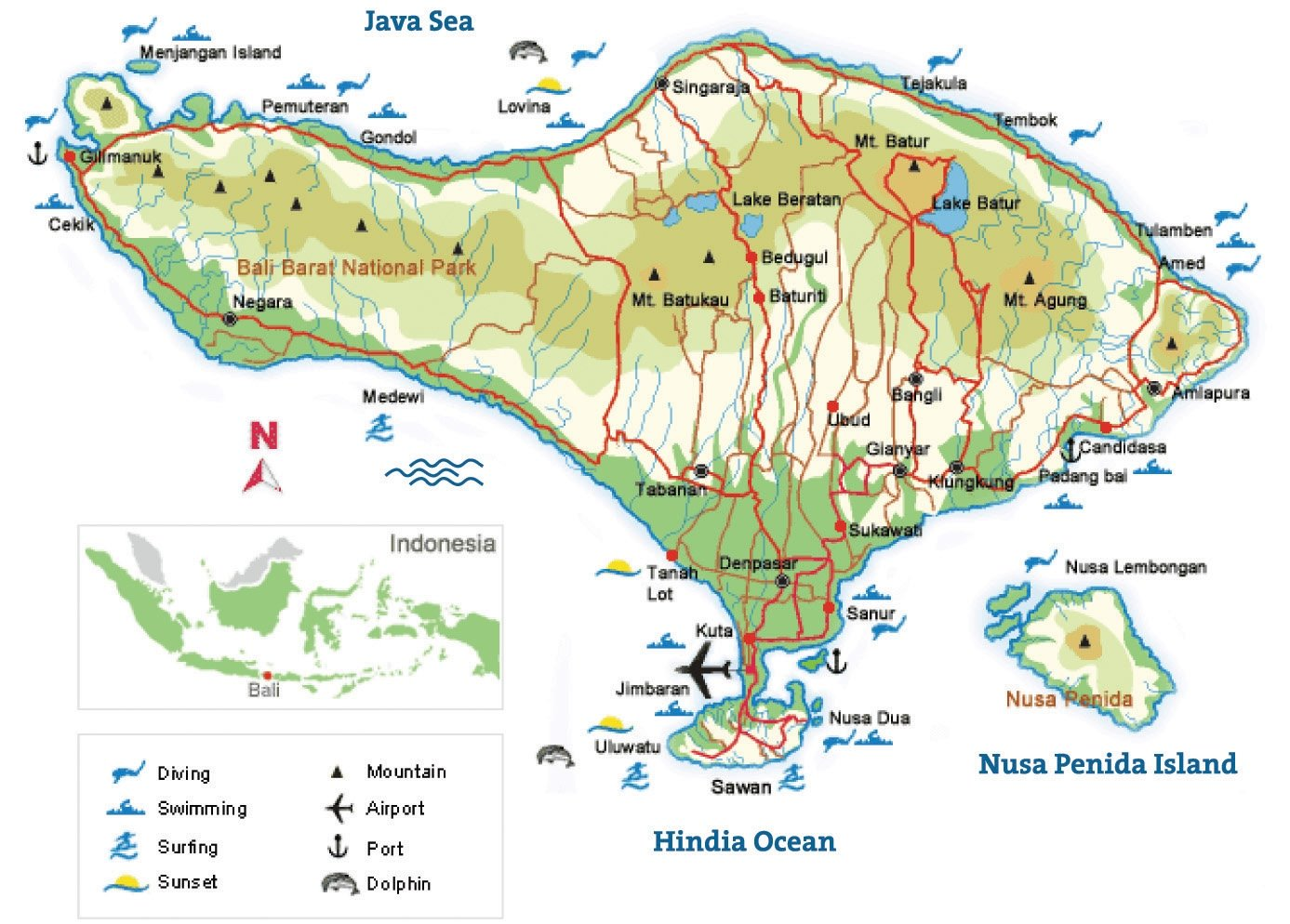 Where is bali bali map bali location bali architecture blog and bali is one the indonesian province gumiabroncs Images