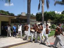 Simulacro de Evacuacion en una Escuela