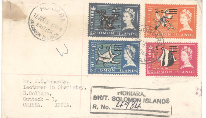 Cover from Solomon Island