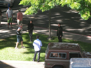 Ryan has posted a few photos of the filming now Filming Update - Jack, Sayid, and Ben