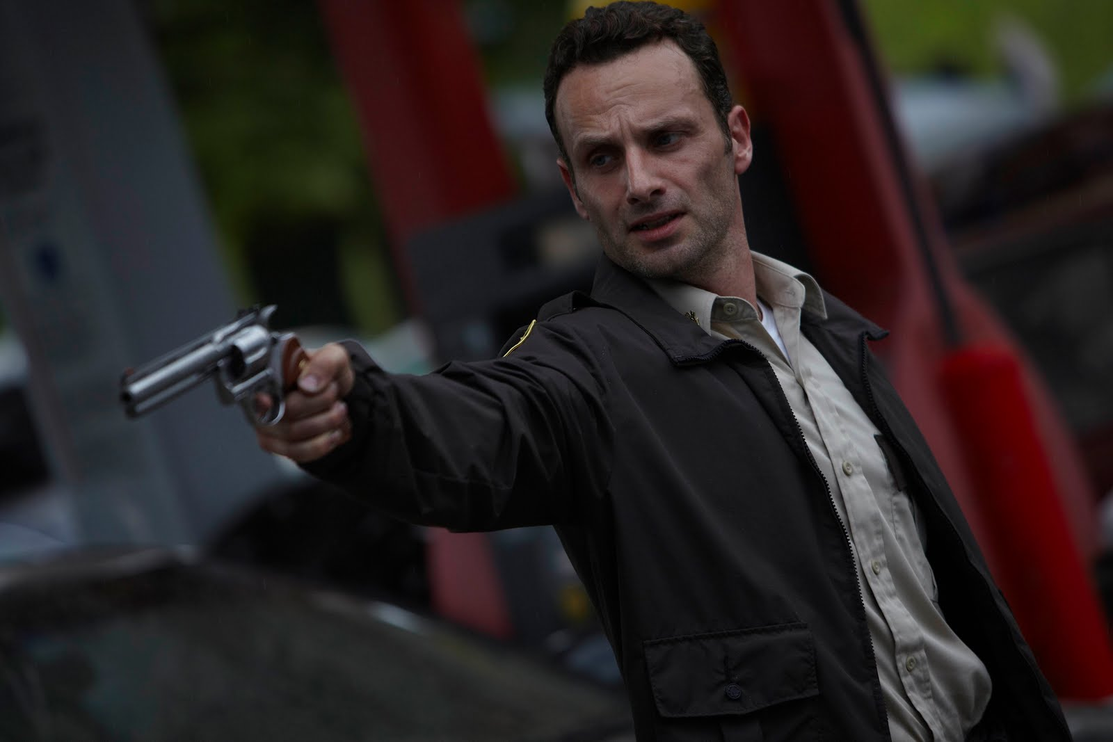 The Walking Dead - Andrew Lincoln as Rick Grimes ...