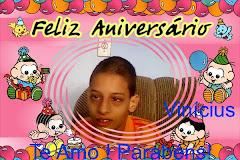 Aniversário do Vinicius !