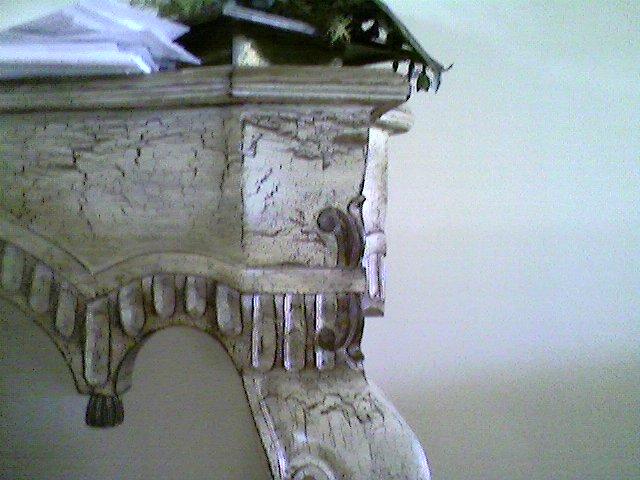 Decoracion de paredes y muebles envejecimiento de muebles - Muebles craquelados ...