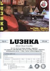 La nueva QSL de LU3HKA