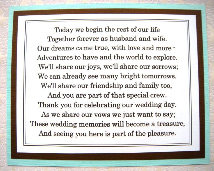 Weddings by Susan: Ready-to-Ship Wedding Reception Signs