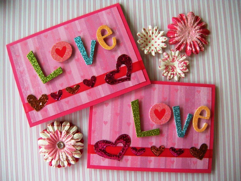 Weddings by Susan Handmade Valentines Day Greeting Cards – Valentine Card 2015