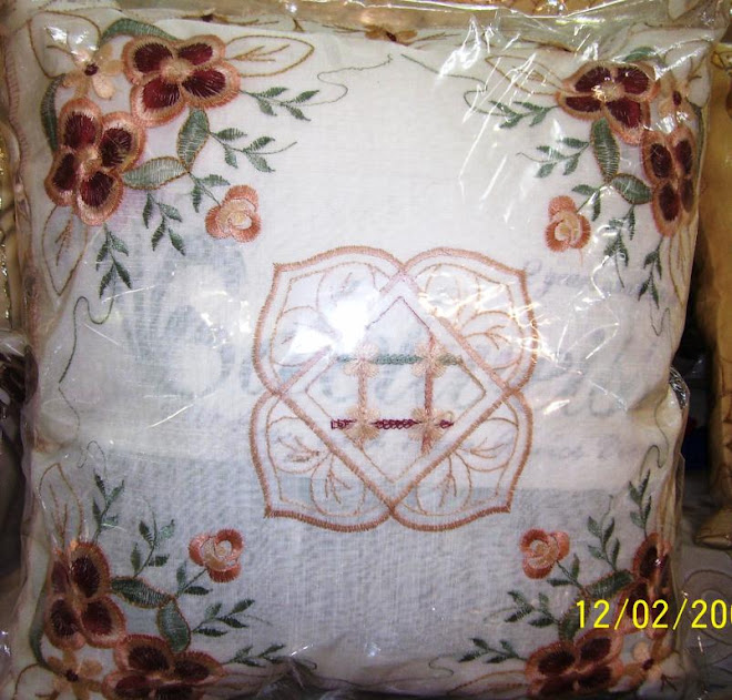 SARUNG BANTAL ORGANDI 1set(5pcs)