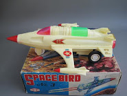 WANTED SPACE BIRD WHITE BODY