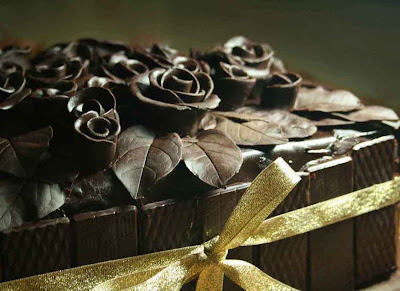 Chocolate Roses Cake (2)