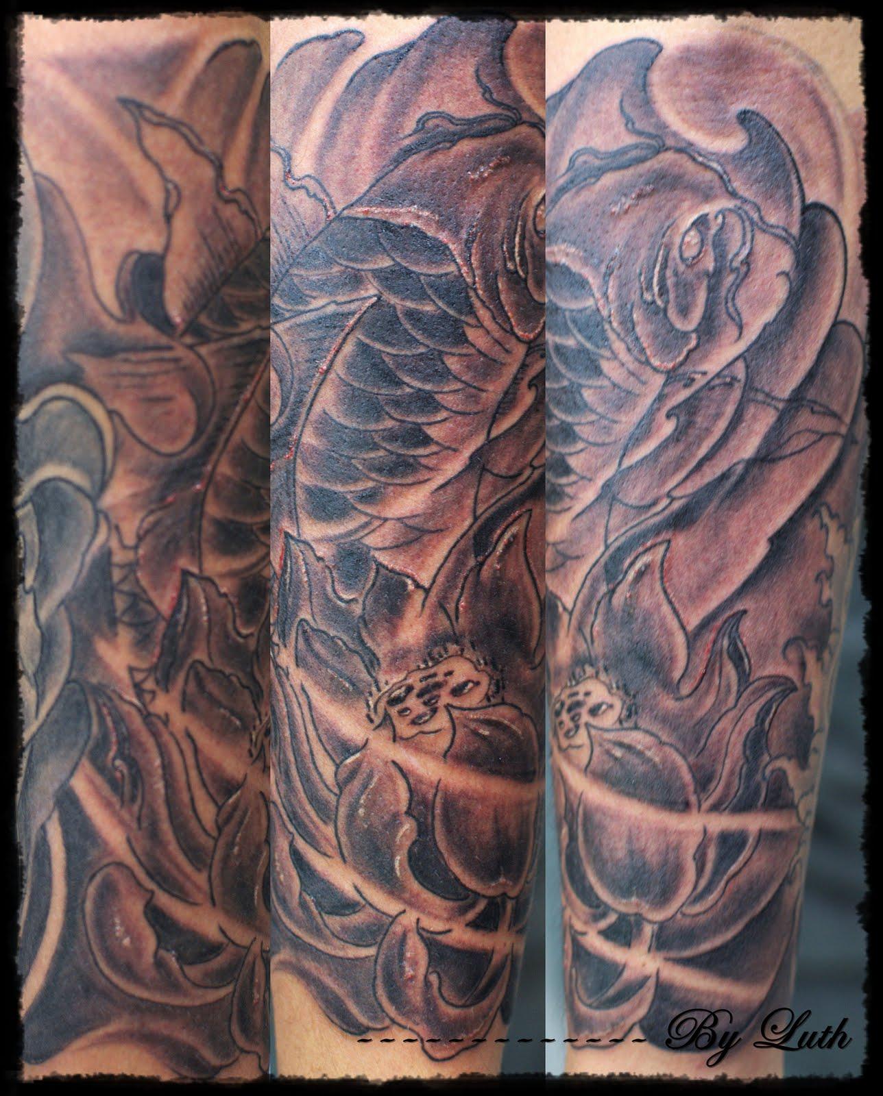 Koi Tattoo Forearm