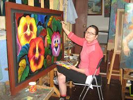 La Artista Gladys Rivera Ortega
