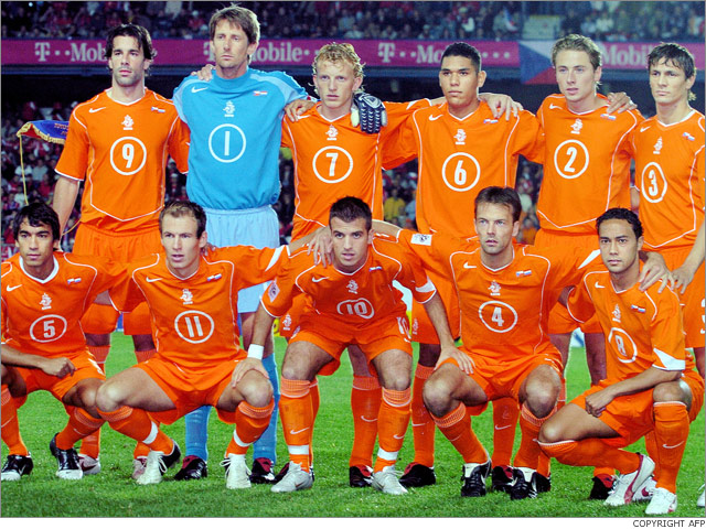 So why do I think the Netherlands will win World Cup 2010
