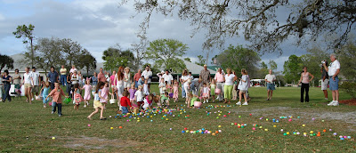Easter Egg Hunt at the Spruce Creek Fly-in
