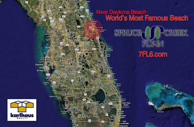 Spruce Creek Fly-in, located in North-East Florida near Daytona Beach - the World's Most Famous Beach