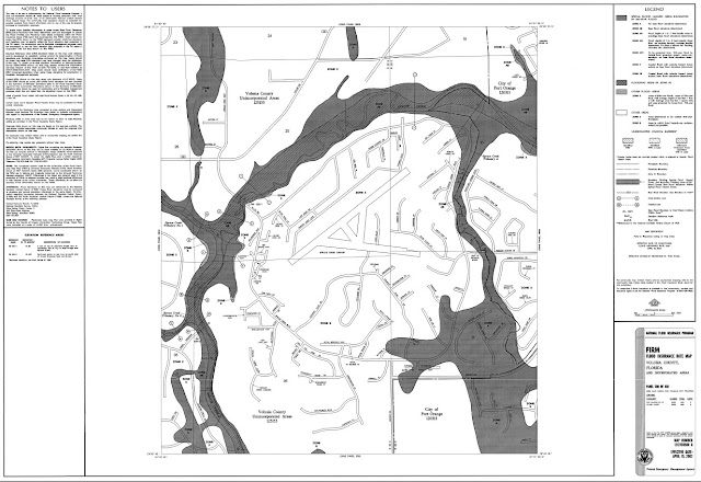 FEMA Flood Map For Spruce Creek FlyIn - Zone x on fema flood map