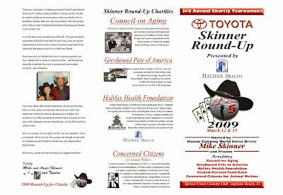 Mike Skinner - Toyota Skinner Round-up
