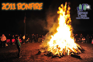 Spruce Creek Fly-In Bonfire