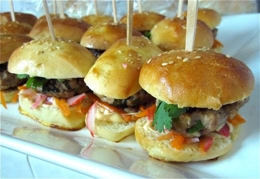 Pardon My Crumbs: Pork Meatball Banh Mi (Vietnamese Sandwich)