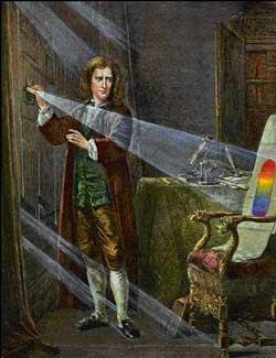 Representación de Isaac Newton