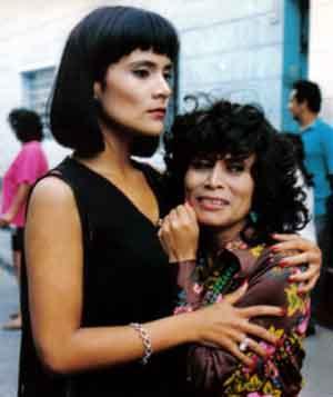 Irma Maury y Mónica Sánchez