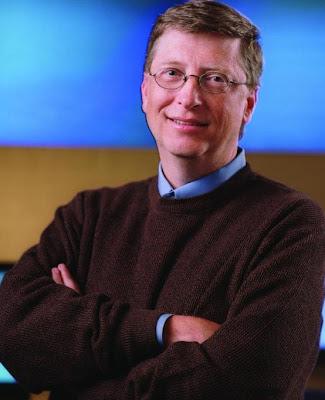 Empresario Bill Gates estadounidense