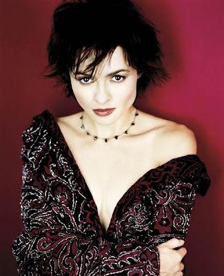 Helena Bonham Carter con cabello corto
