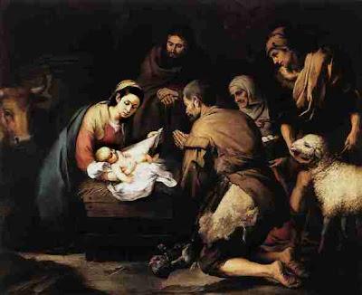 Cuadro Adoración de los Pastores de Murillo