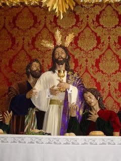 Imagen de Nuestro Padre Jesús de la Fe en la capilla de la iglesia