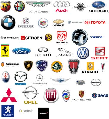 Logos Of The World. Cars Logos