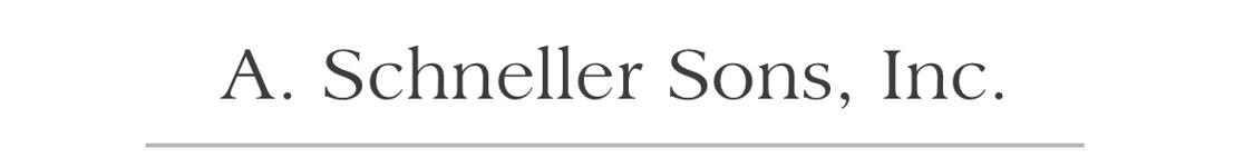 A. Schneller Sons
