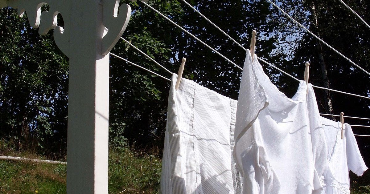 frugal luxuries by the seasons in praise of the backyard clothesline