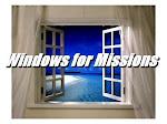 Janelas para  Missões