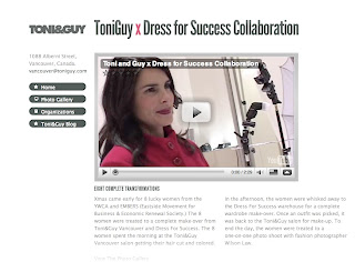 Toni and Guy Vancouver x Dress for Success