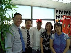 2008年12月访问Air Asia东尼