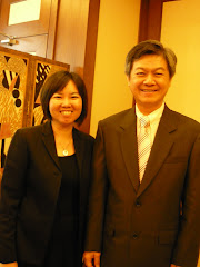 2009年7月1日,和记者在国会访问新任副外交部长李志亮