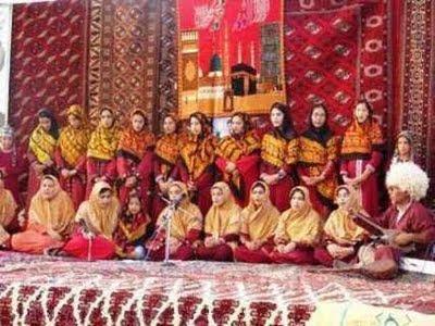 Türkmen hor gyzlar topary