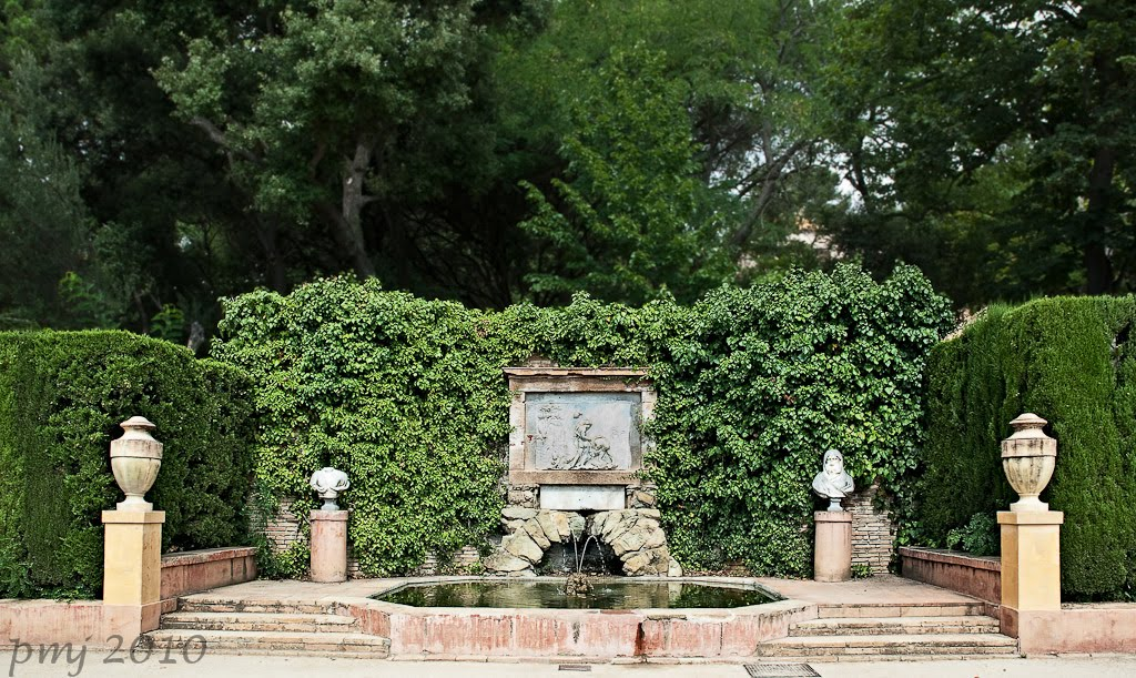 A intervalos parque del laberinto de horta for Jardin laberinto