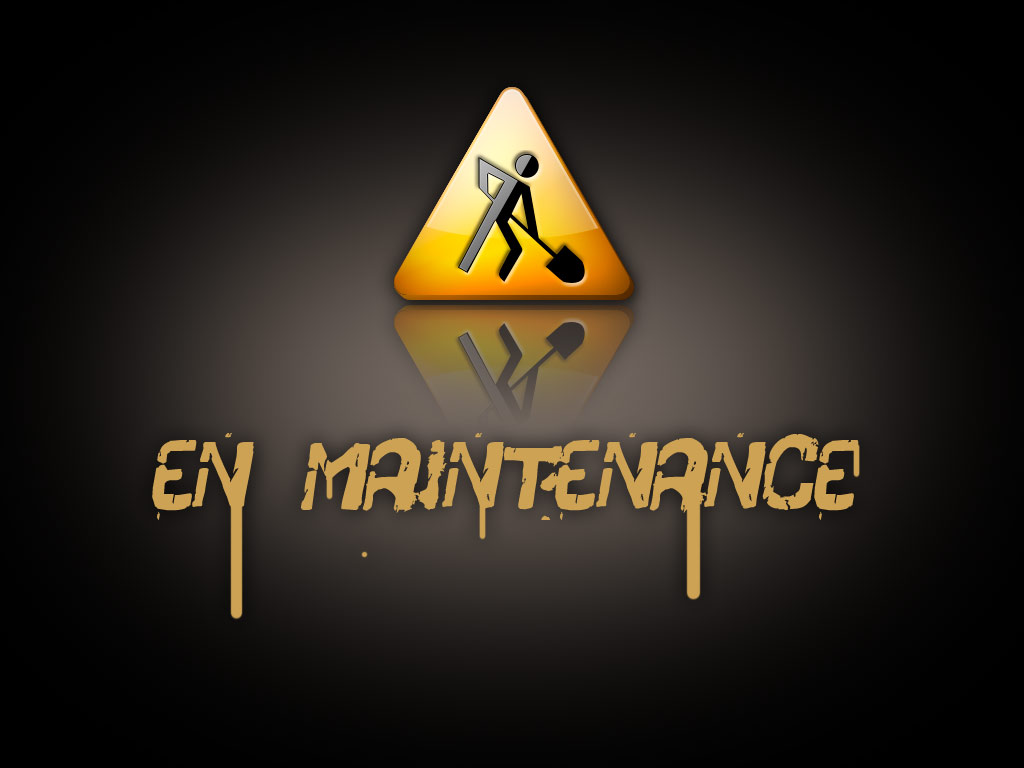 """Résultat de recherche d'images pour """"en maintenance"""""""