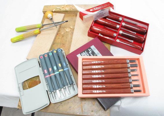 New Zealand Printmakers: Woodcut Tools
