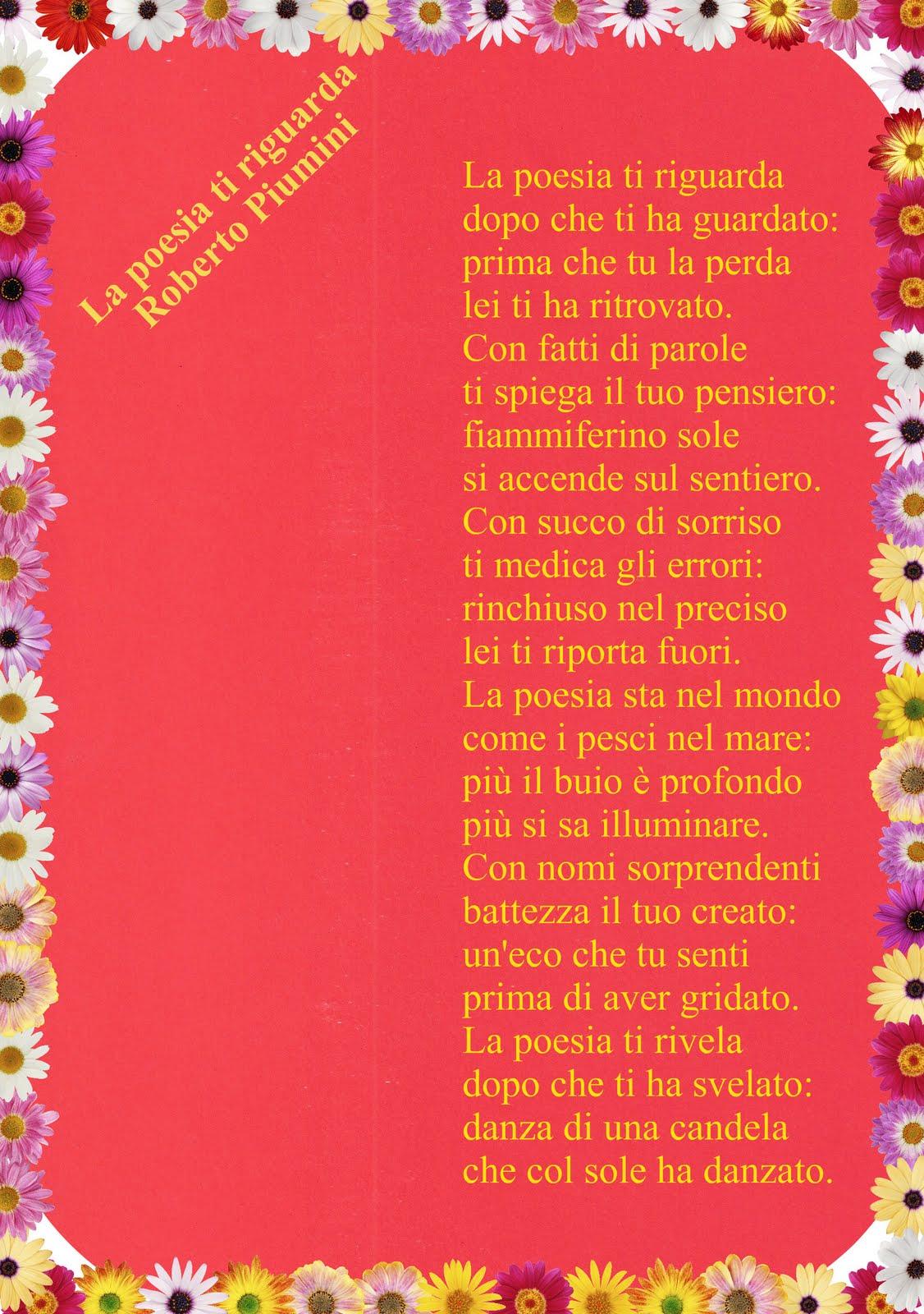 Eccezionale Giovanni Pistoia: LA POESIA TI RIGUARDA di Roberto PIUMINI ZD94