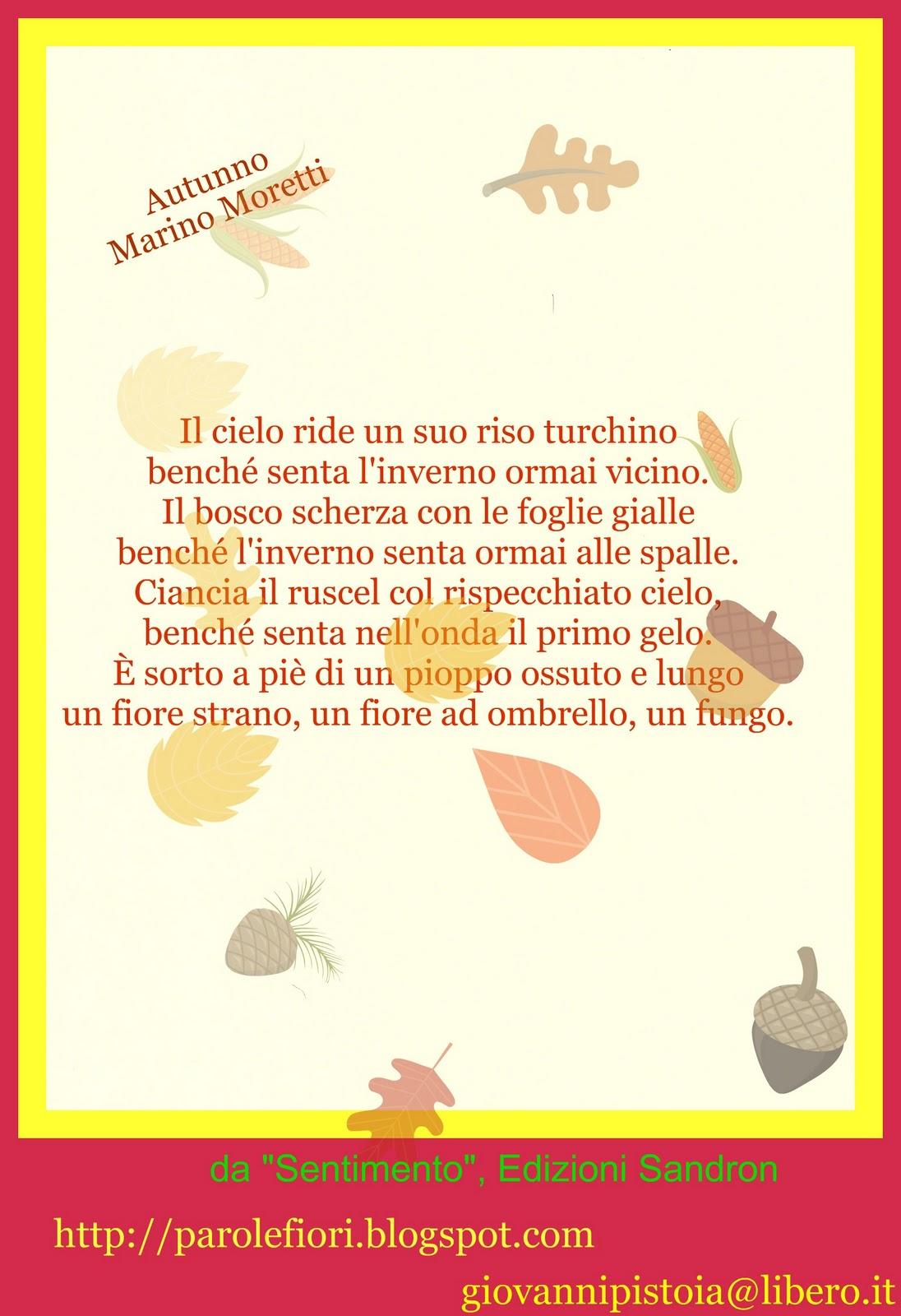 Top Giovanni Pistoia: AUTUNNO di Marino MORETTI XU33