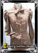 cheq blouse
