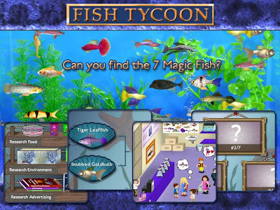 Download Game Gratis : Free  Game Fish Tycoon + Crack Download