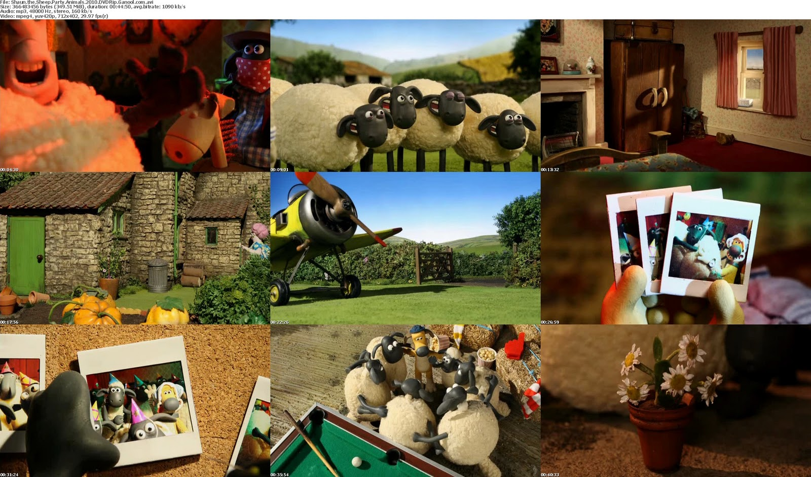 Shaun the Sheep Games